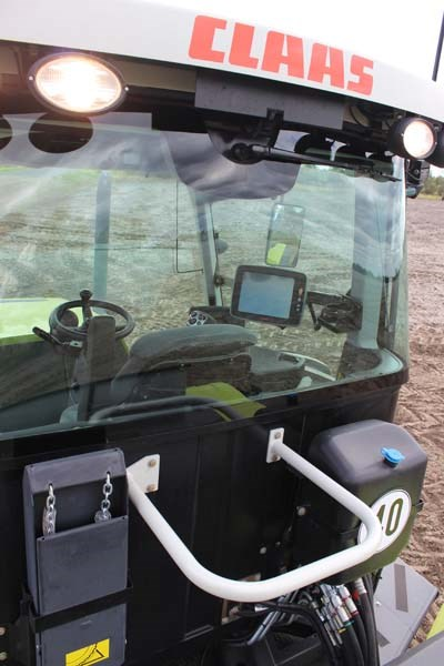 Claas Xerion 5000 visibility 9652