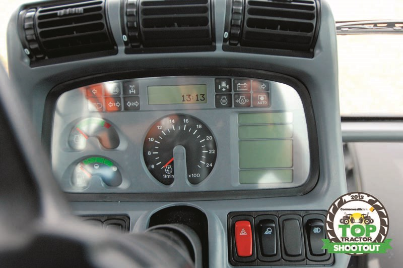 Deutz Fahr M600 Summit-dashboard