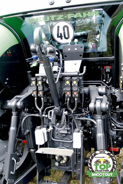 Deutz Fahr M600 Summit-linkage hydraulics