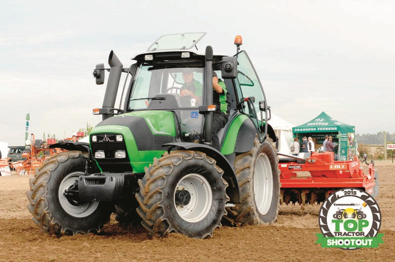 Deutz Fahr M600 Summit-power harrow