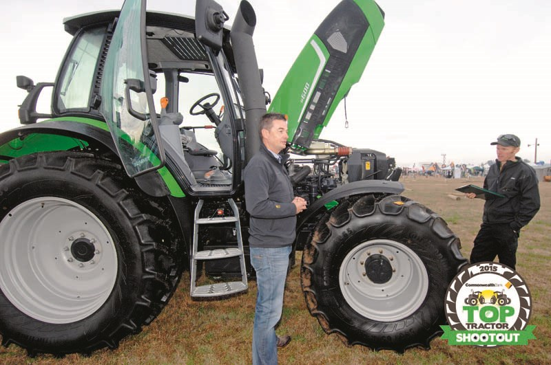 Deutz Fahr M600 Summit-tractor