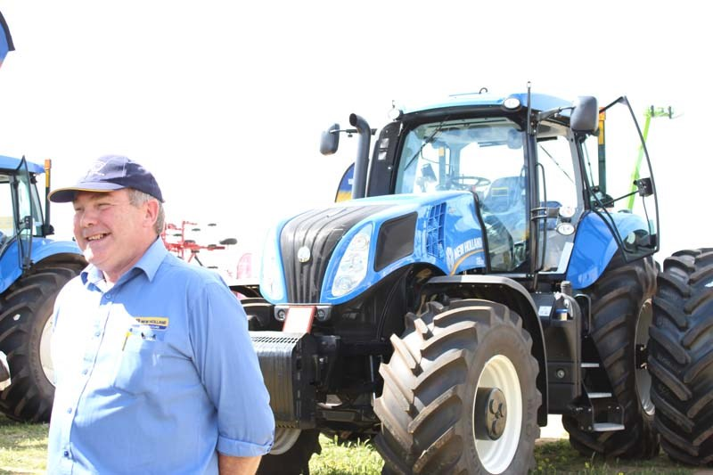 Dowerin 2014 New Holland Don Forrester