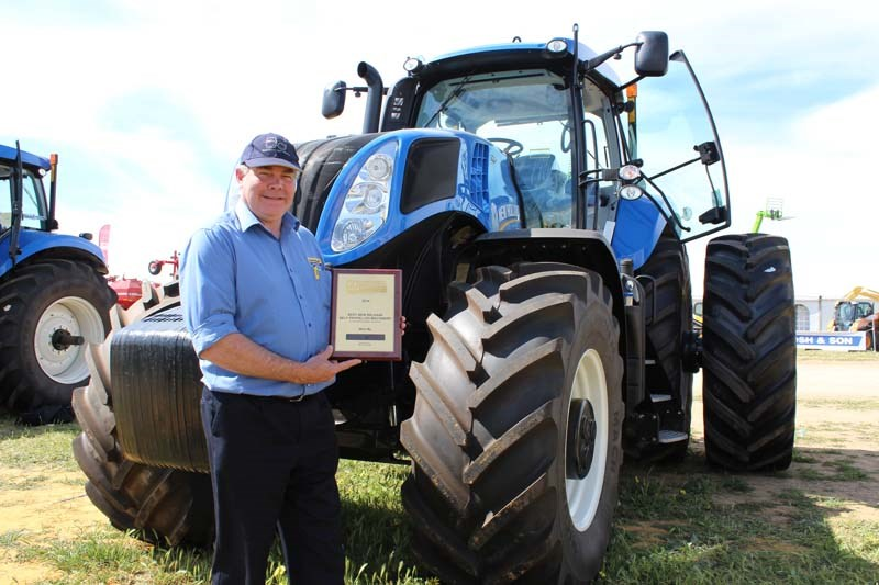Dowerin 2014 New Holland award