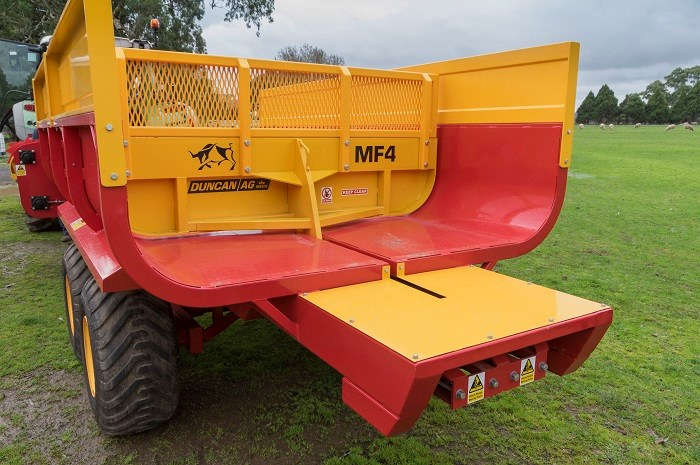 Duncan Ag Multi Plus feeder feedout 8697
