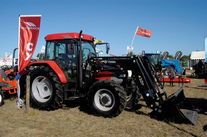 East Gippsland Field Days tractor