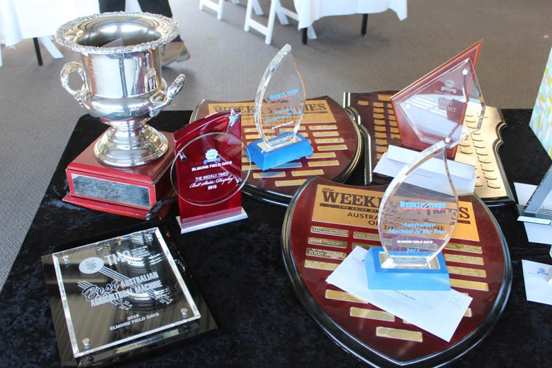 Elmore Field Days 2015 awards