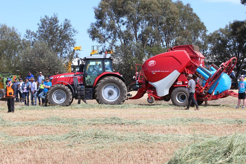 Elmore Field Days 2015 baler