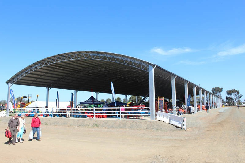 Elmore Field Days 2015 pavillion