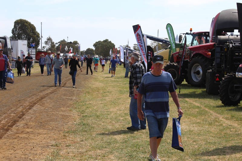Elmore Field Days 2015 visitors