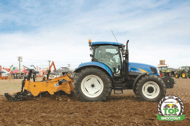 New Holland T6070 Elite-cultivator performance