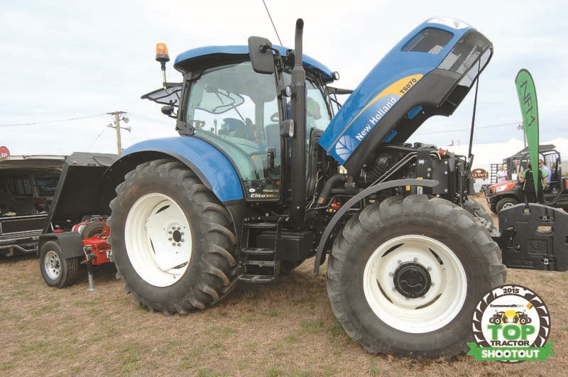 New Holland T6070 Elite-cab visibility