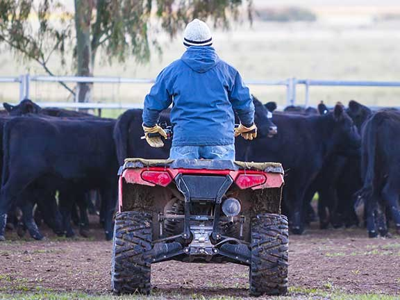 The Victorian farming community has been rocked by three fatalities within three days.