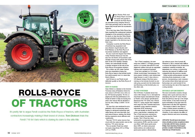 Fendt 716 S4 Vario review
