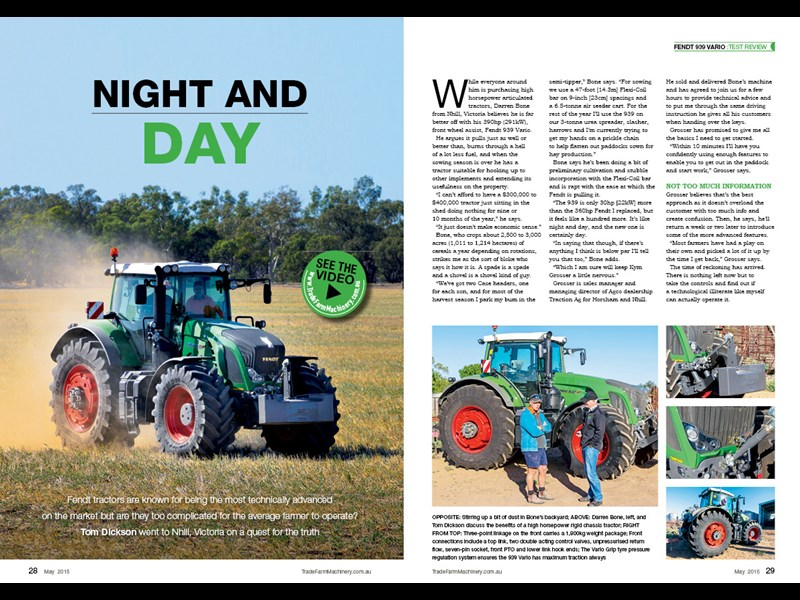 Fendt 939 Vario review