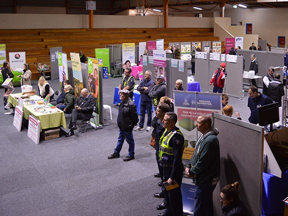 The Bendigo Farm Safety Expo attracted farmers from all around the greater Bendigo region.