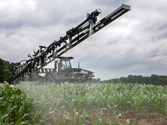 The GVM Mako 450 self-propelled sprayer.
