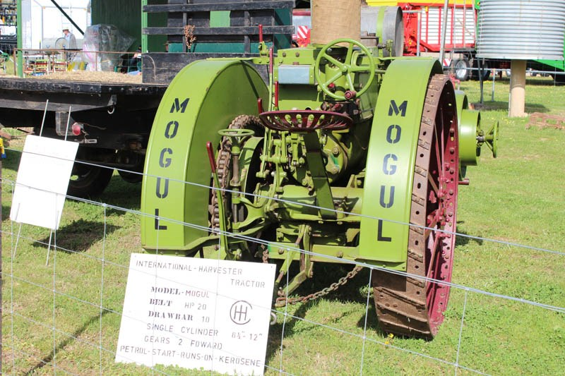 Henty Machinery Field Days vintage tractor