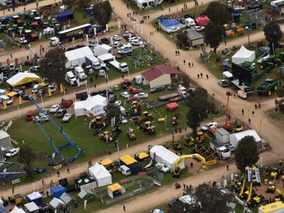 Over 850 exhibitors crammed into the Henty Machinery Field Days site for the three-day event