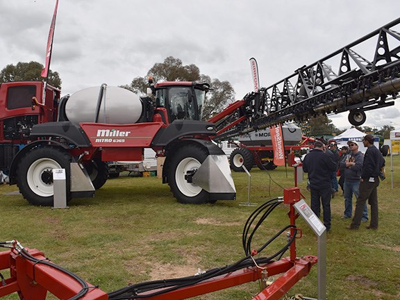 The Miller Nitro 6365 self-propelled sprayer with Spray-Air Technology took out second place and received high commendation in the Henty Machine of the Year competition