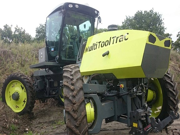 Dutch manufacturer Boessenkool is in the process of testing its Multi Tool Trac hybrid tractor.