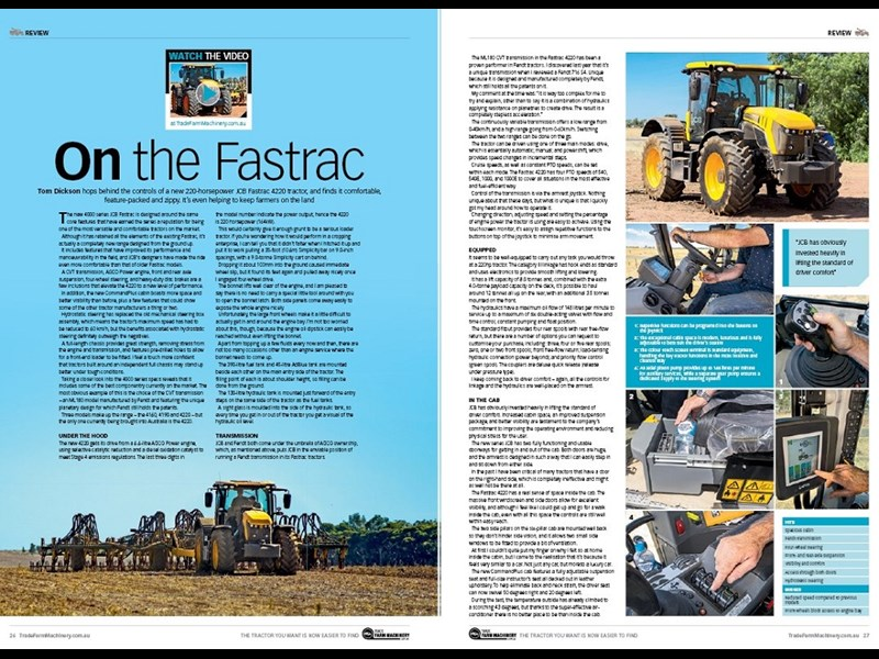 JCB Fastrac 4220 review