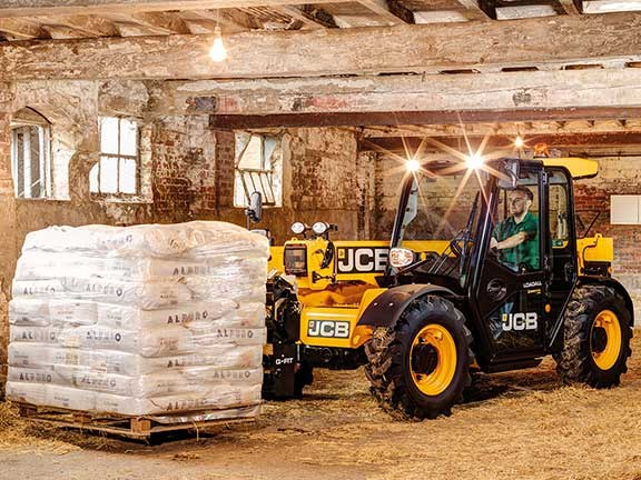 JCB has brought the 525-60 Agri Compact Loadall to Australia.