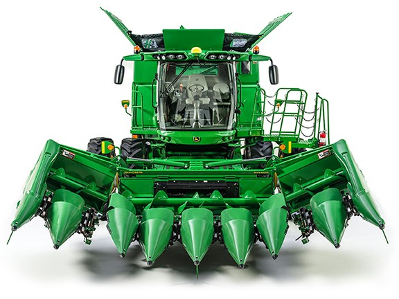 The John Deere 608FC corn head has been released onto the Australian market.