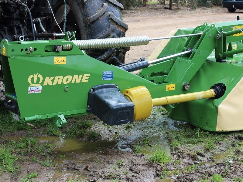 Krone EC R 320 mower suspension