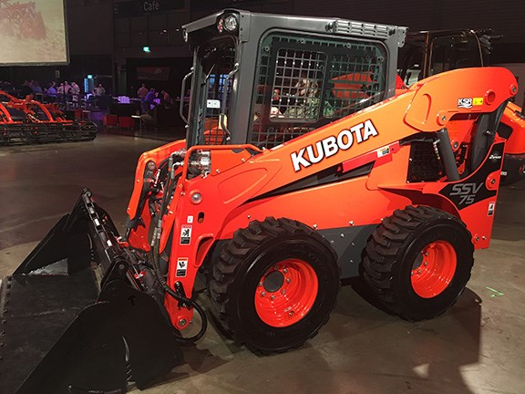 Skid-steer loaders are fast becoming commonplace on farms across Australia. The large front door on the Kubota SSV65 and SSV75 can be opened regardless of the loader position, guaranteeing quick and easy entry and exit.
