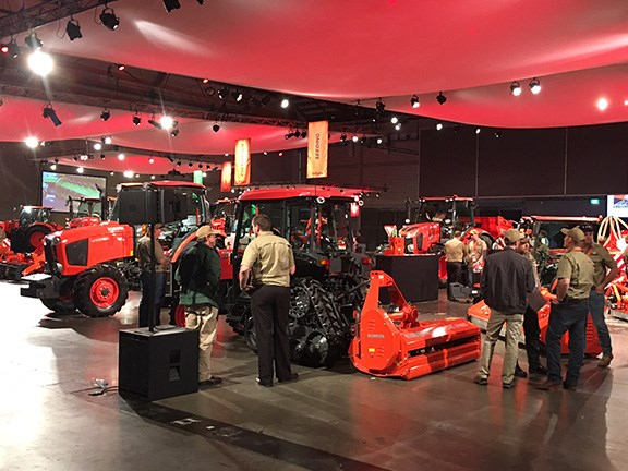 Kubota Tractor Australia put on an Agritechnica-style event to celebrate the launch of its new Kubota-branded implement range.