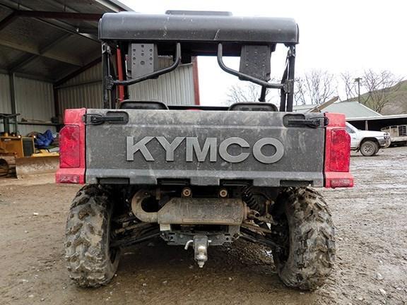 Kymco UXV 500 UTV review