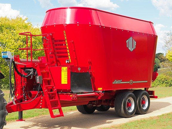 The Lely Tulip Biga vertical mixer range has arrived in Australia.