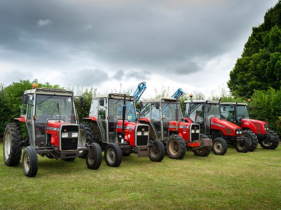Massey Ferguson tractors sure have evolved over the years.