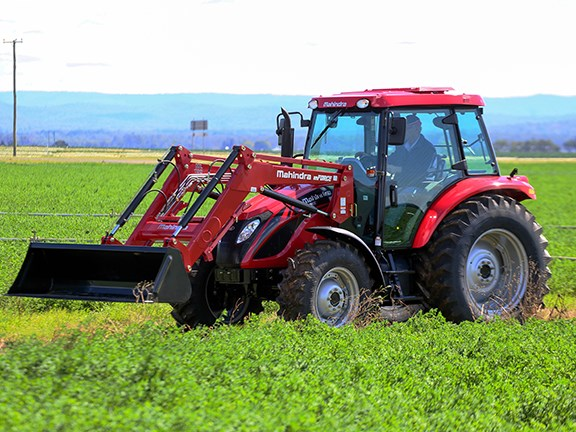 The Mahindra mForce 100P tractor is now available in Australia and will be on show at the upcoming Elmore Field Days event.