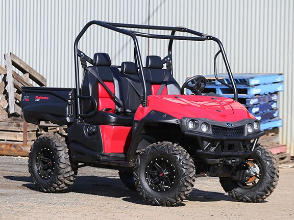 The Mahindra mPact XTV 750S three-seater UTV is about to arrive in Australia.