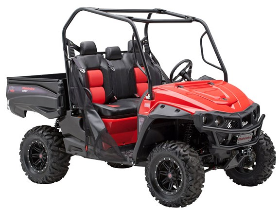 The Mahindra mPact XTV 750 side-by-side Utility Task Vehicle (UTV) models, set to arrive in Australia later this year.