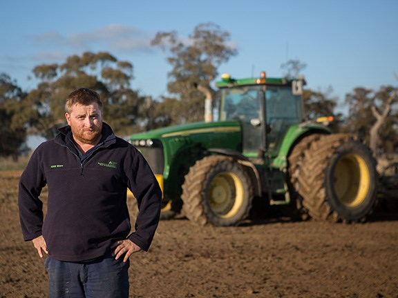 Maize grower Adam Whipp has been using Corson Maize Z71-F1