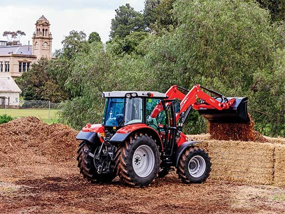 The Massey Ferguson 5609 tractor packs a heap of features into a small space.