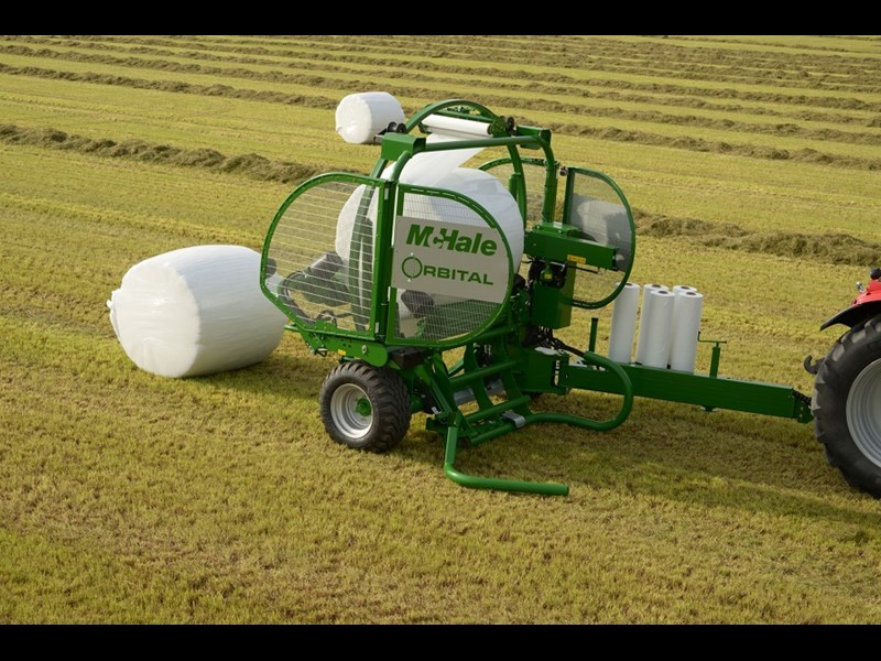 McHale Orbital bale wrapper