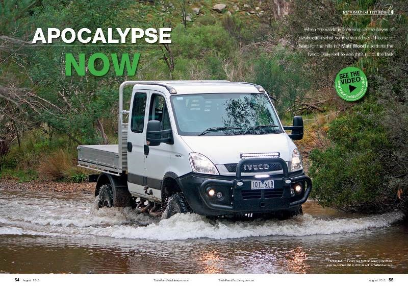 NFM 24 Iveco Daily 4x4 test