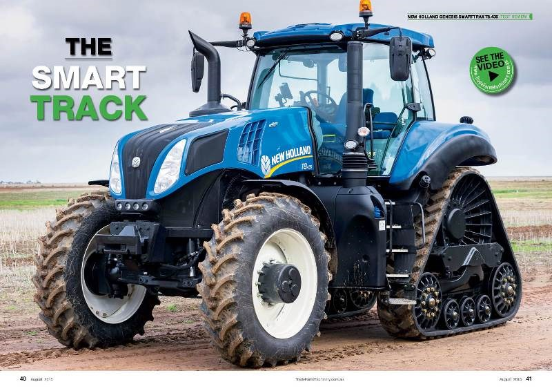 NFM24 New Holland SmartTrax Review