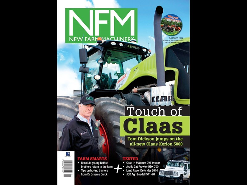 NFM 014 Front Cover