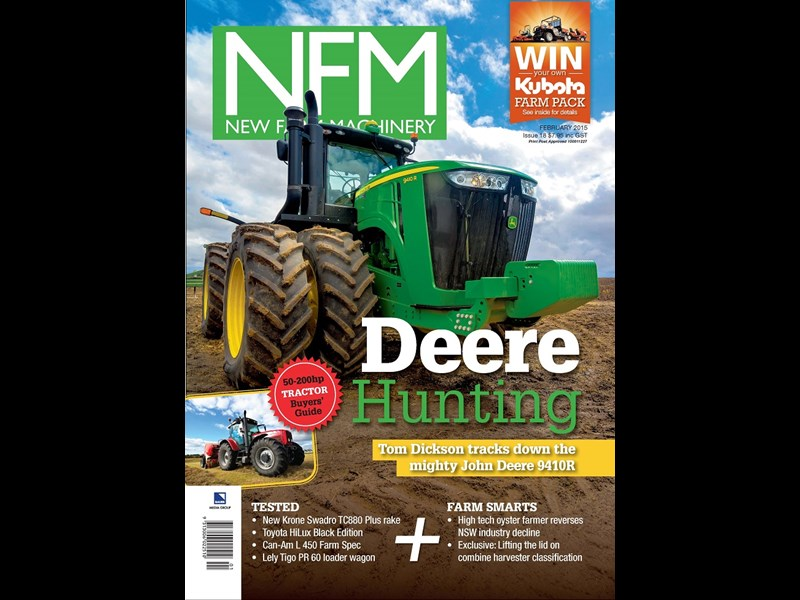 NFM 018 Front Cover