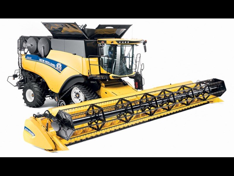 New Holland CR 10 9 combine