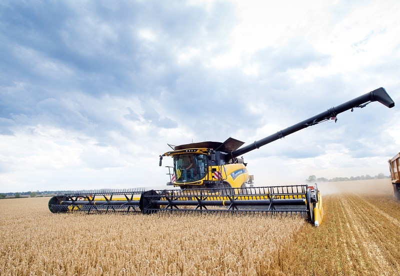 New Holland CR10 90 combine harvester
