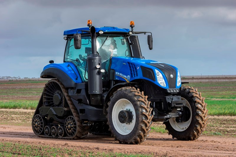 New Holland Genesis SmartTrax T8 435