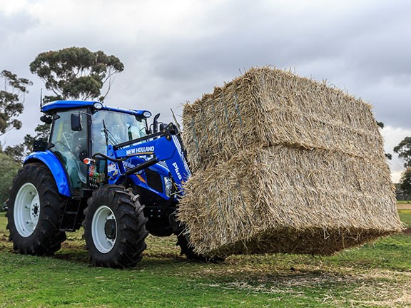 The New Holland TD5.90 tractor was the most manoeuvrable tractor in the 2016 Top Tractor Shootout.