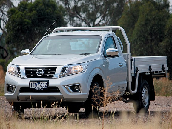 Not exactly striking in the looks department, but the base Navara models are well-appointed enough for most work assignments.