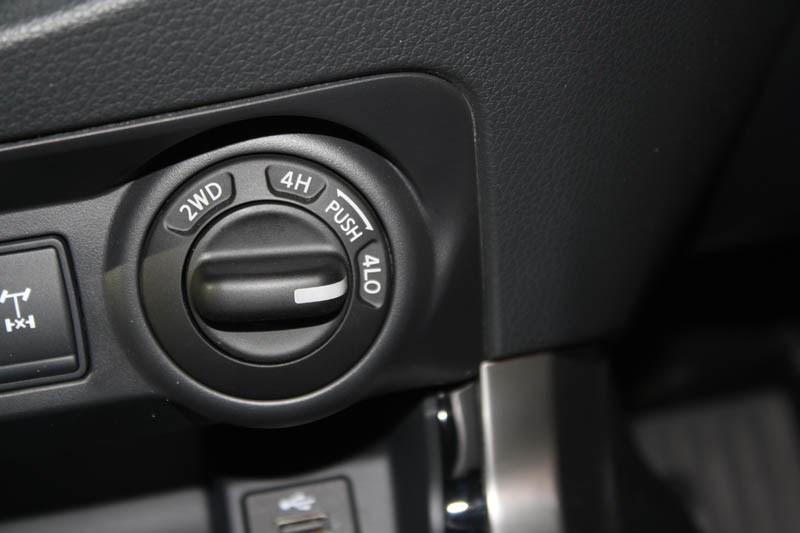 Nissan Navara NP300 shift 3