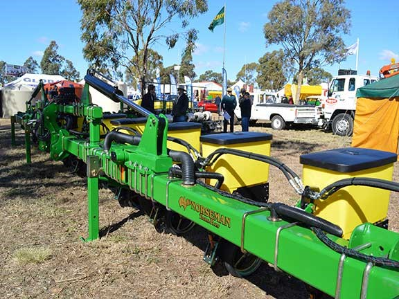 The Norseman Techni Plant FL row crop precision planter incorporates a high-tech series of row unit lockups.